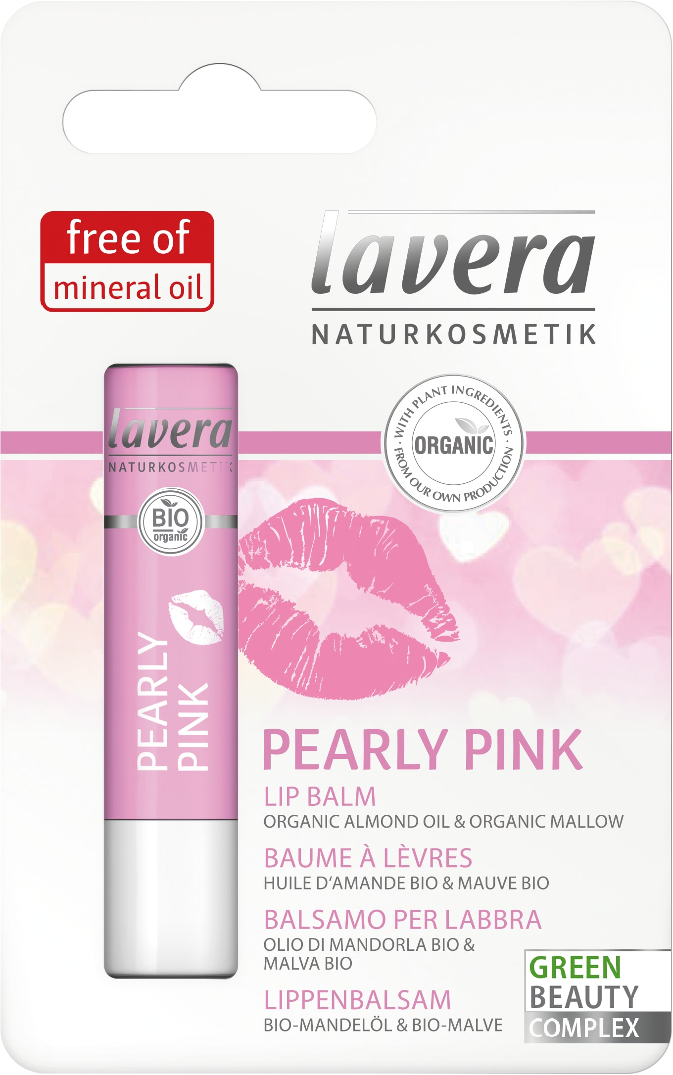 Pearly Pink Lip balm