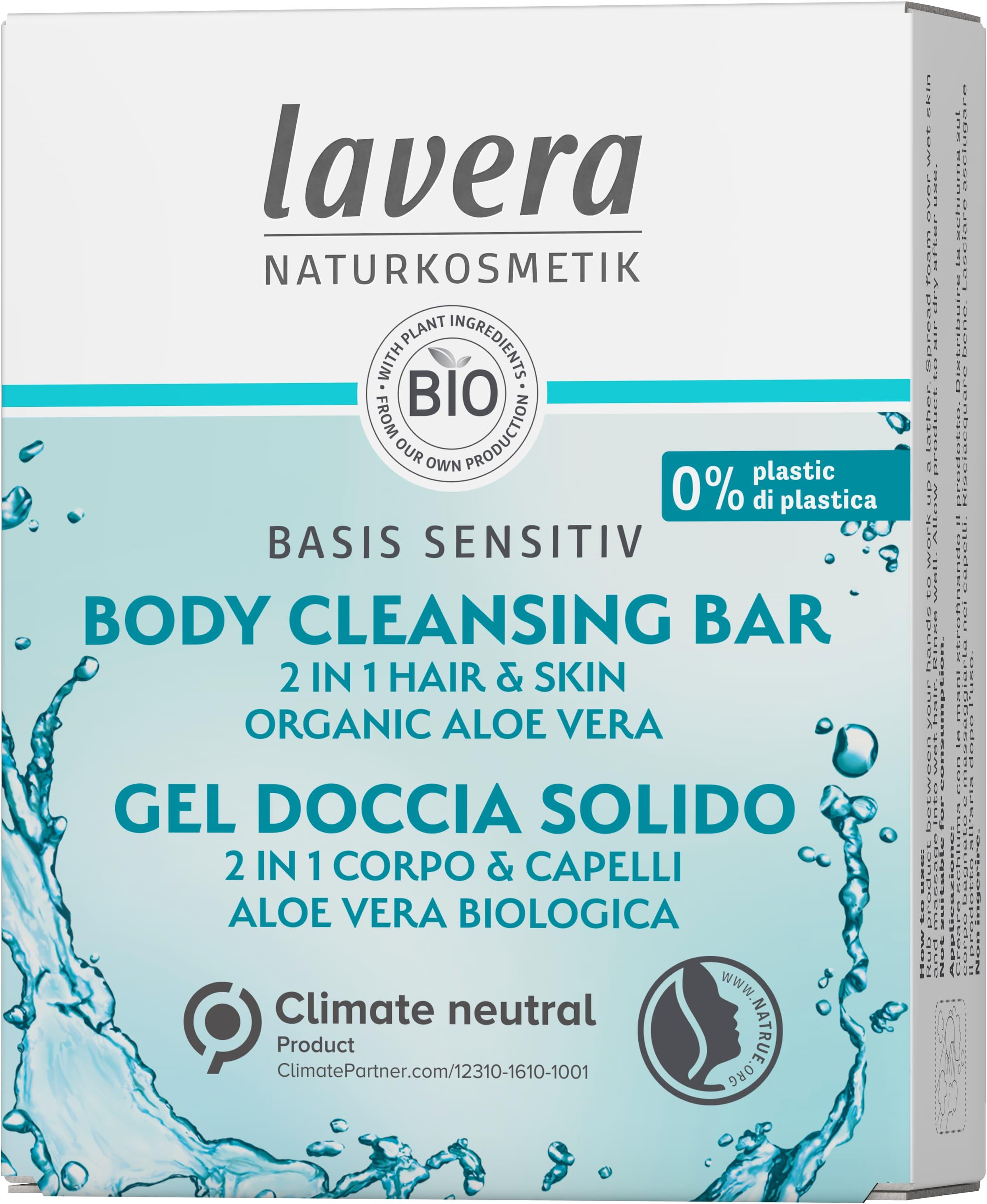 Body Cleansing Bar 2 in 1 basis sensitiv