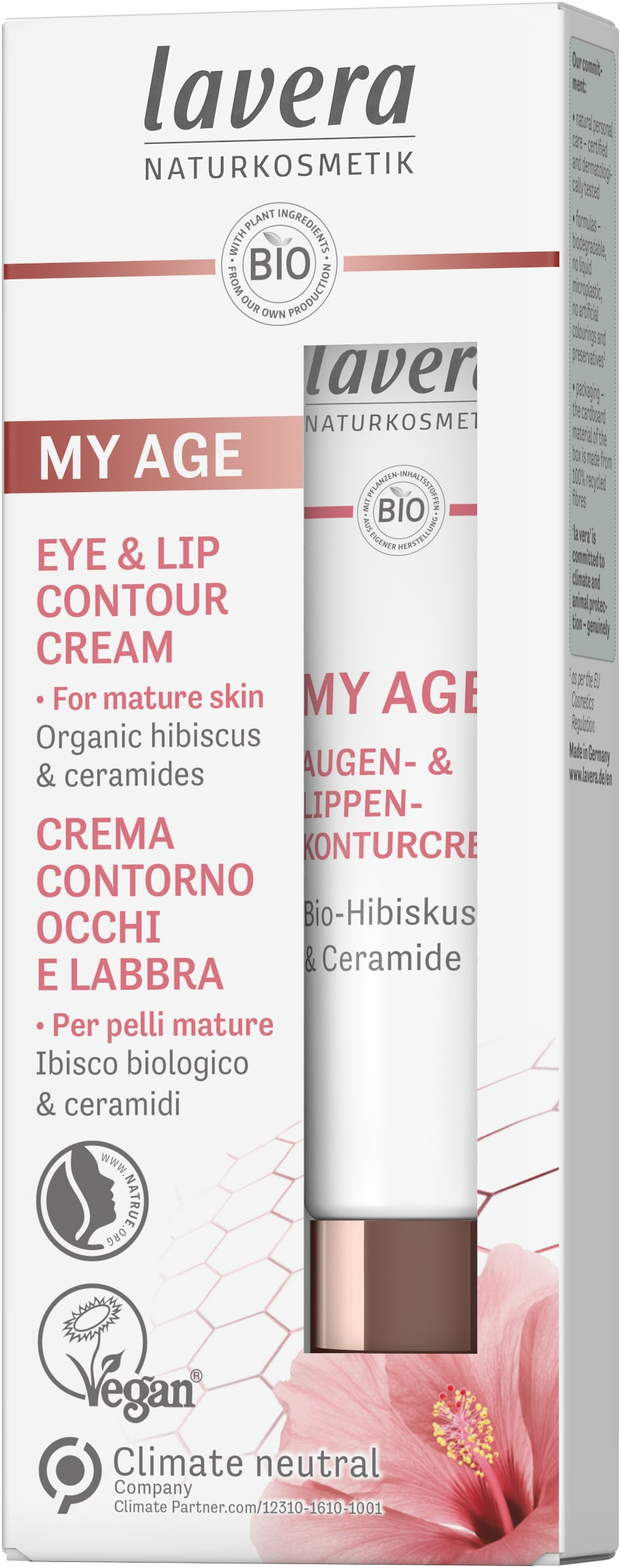 MY AGE Eye & Lip Contour Cream