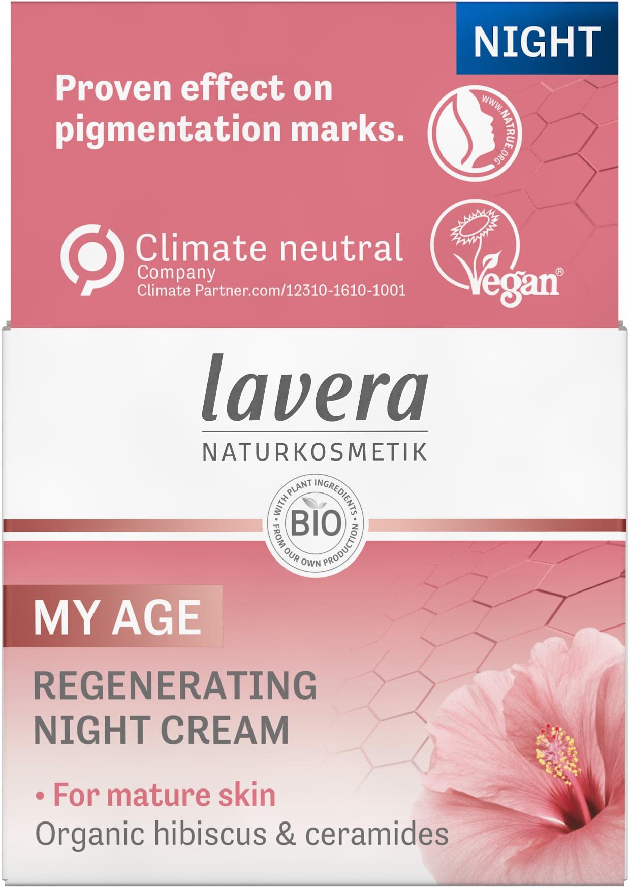 MY AGE Regenerating Night Cream